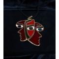Enameled Necklace