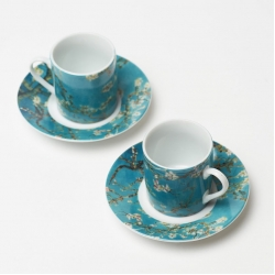 Coffee set ''Almond Blossom''