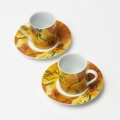 Coffee set ''Sunflowers''